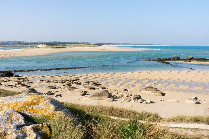 photo en Finistère, Bretagne et...: Plouescat, baie du Kernic