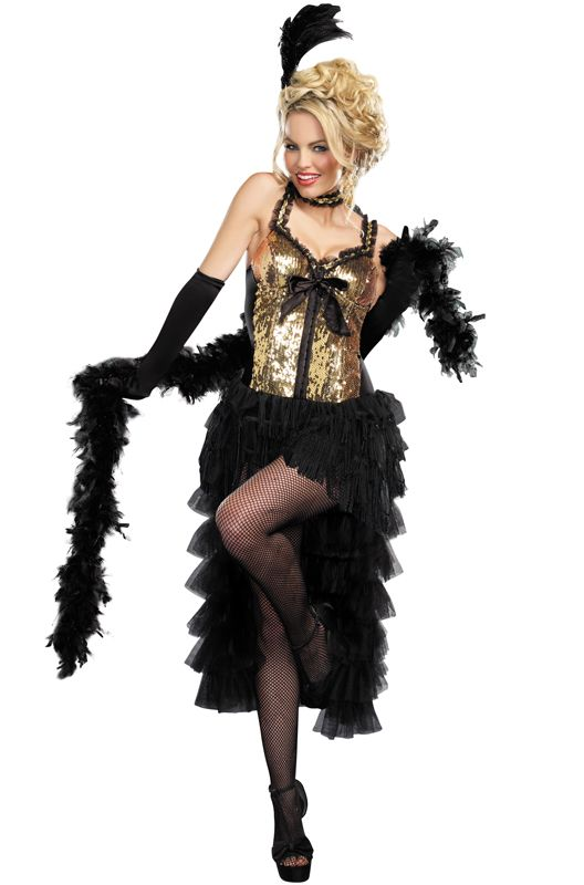 Burlesque Bombshell Adult Costume - Pure Costumes
