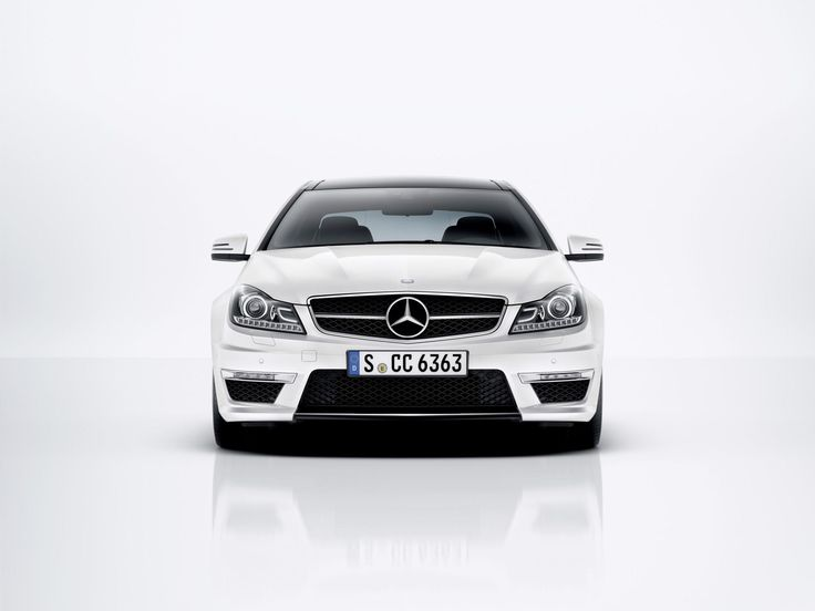 2014 Mercedes C Class Coupe Front
