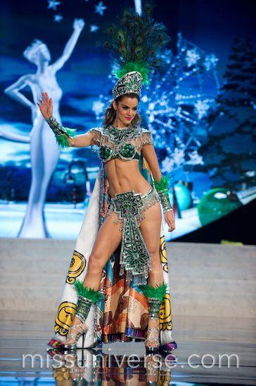 Miss Universe 2012 National Costumes:  Guatemala
