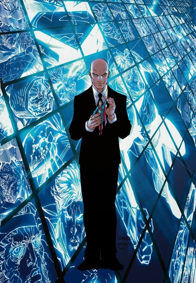 Superman Unchained #4  Lex Luthor