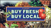 Buy local in AL: a list of Farmer's Markets, CSAs, and U-Pick Farms.