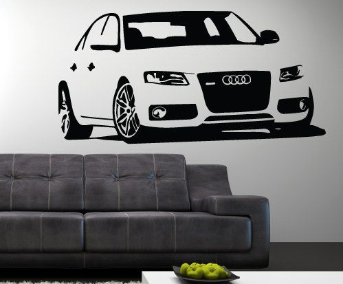 16 best cars autos images on pinterest autos sticker and stickers audi rs4 wall vinyl decal sticker 20 x fandeluxe Gallery