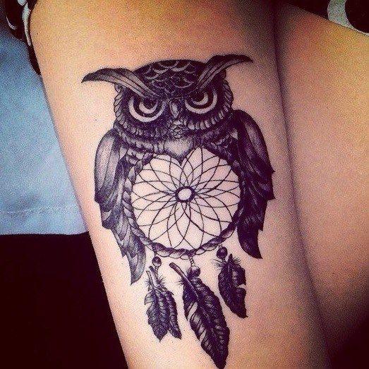 Night owl tattoo btbam