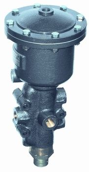 Piston actuated valves