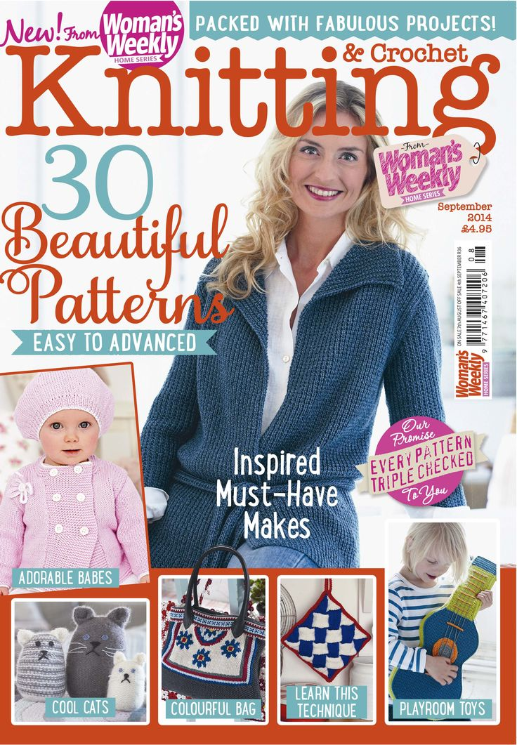 14 best images about Knitting Magazine Covers on Pinterest Crochet woman, K...