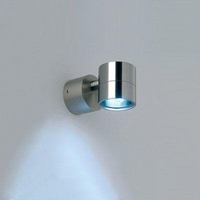 BEL LIGHTING - MICRO LED - Petite Applique murale LED à diffusion montante/descendante étanche IP65 Classe :III Dimension (mm) : 45 x 45 x 90 (L x l x h) - 138 à 149€