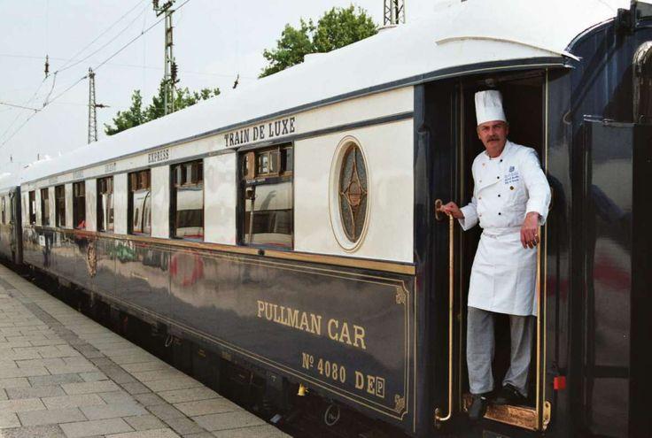 Treinen zijn er niet alleen om je te vervoeren, maar ook om te eten!