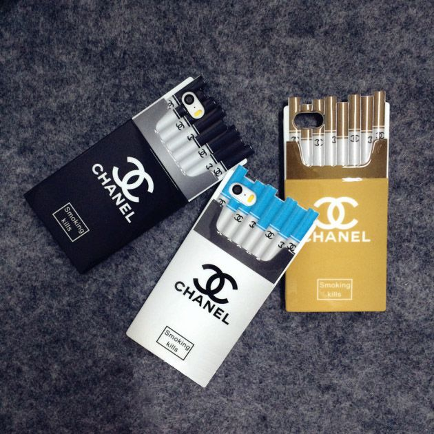 Stylish Chanel Cigarette Box Iphone 6 4.7 Iphone 6 Plus Iphone 5/5S Silicone Case  http://www.oz3ds.net/category.php?id_category=65