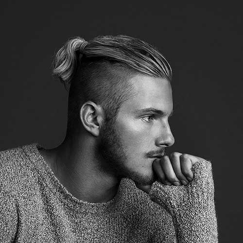 Men's Shaved Sides Hairstyles 2016