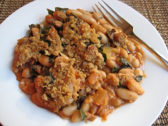 Casserole of white beans and kale! finally a saucepan healthy enough to be prepared on …   – Food