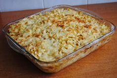 Gyors sajtos sonkás tejfölös tészta – Ez nálunk is bevethető, finom, gyors ebéd!