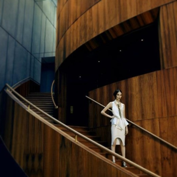 An incredible shot by the very talented Tegan Sewell featuring some beautiful white Givenchy from ELLE