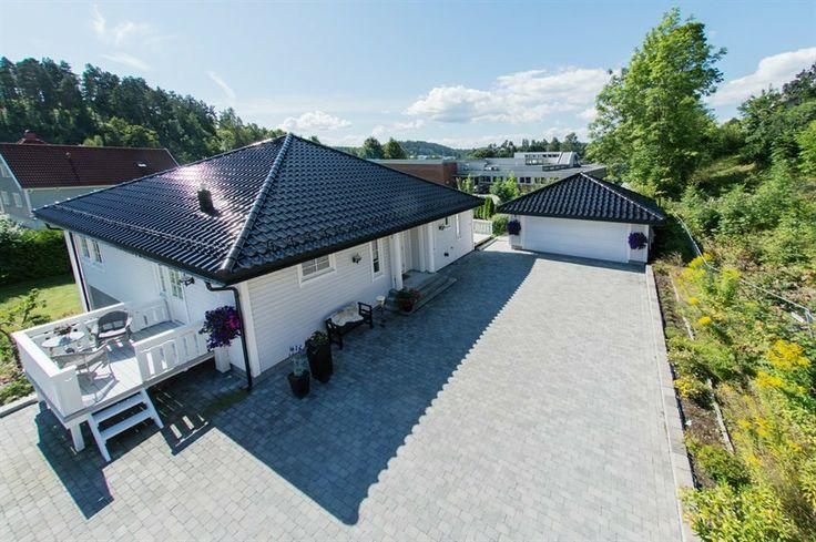 Aurora - En herskapelig bolig fra Systemhus - baksiden