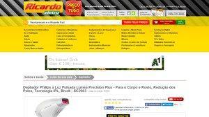 [Ricardoeletro.com] Depilador Philips a Luz Pulsada Lumea Precision Plus - Para o Corpo e Rosto, Redução dos Pelos, Tecnologia IPL, Bivolt…