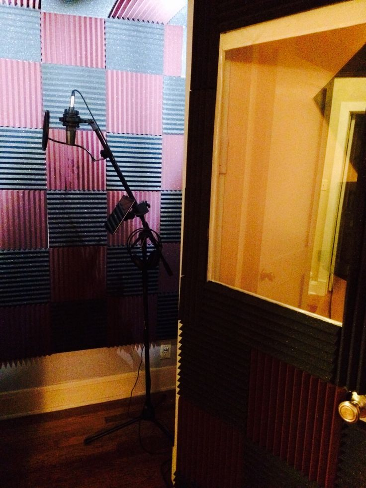 how to build a sound booth at home