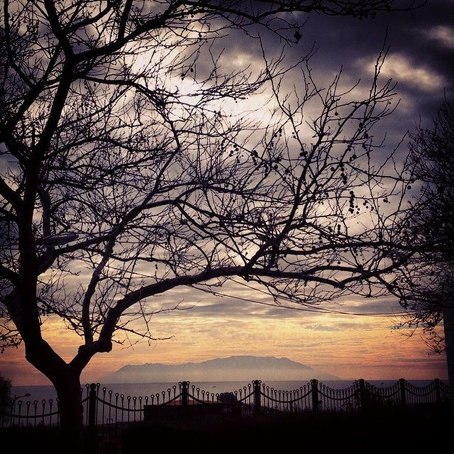 Eliza's K photos | Και το νησί ξανα απεναντι .. #sea #sky #clouds...