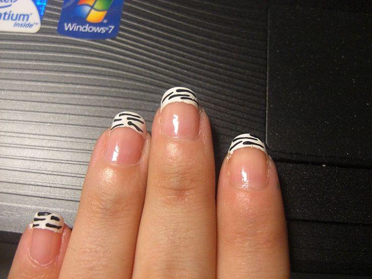 75 best french nails u as francesas images on pinterest for Decoracion con fotografias