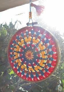 E Strea Chikitu: Gehaakte Mandala