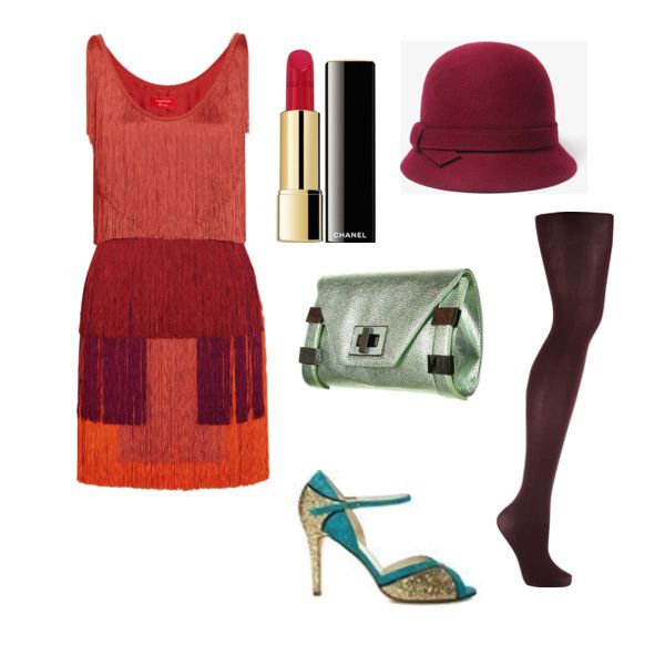 Victoria styled this adorable look for the Roaring '20s fashion challenge on shopforfun.com