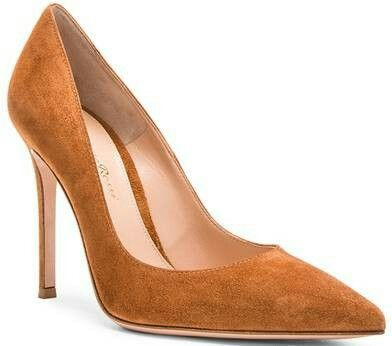 De schoenen van Máxima zijn de zogeheten hofschoenen van Gianvito Rossi: