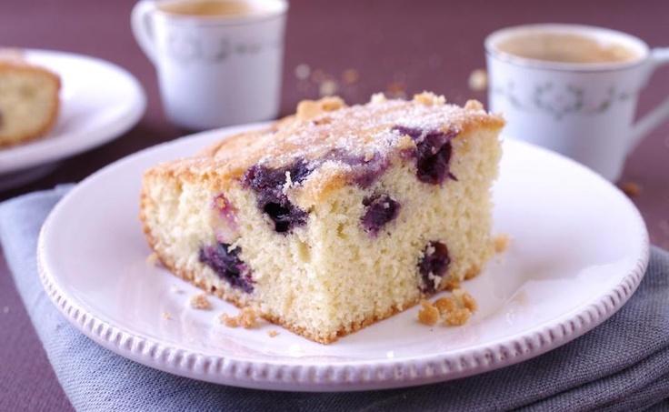 Recipe for blueberry muffin cake - The Boston Globe