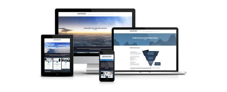 Discovery Asset Management | Website Design | iCreate Advertising