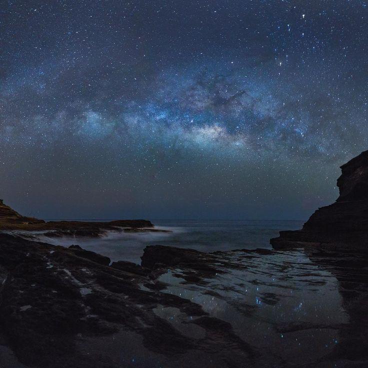 @vincelimphoto Instagram #sky #blue #night #stars #ocean #water #nature