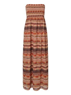 LOOSE FIT MAXI DRESS, Spiced Coral