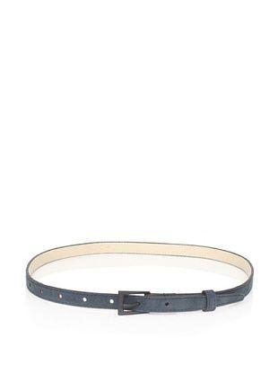 Cut25 Women's Thin Leather Belt (Mallard)