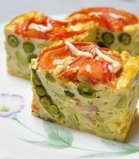 「野菜たっぷり♪豆腐でしっとり*ケークサ」つき草 | お菓子・パンのレシピや作り方【corecle*コレクル】