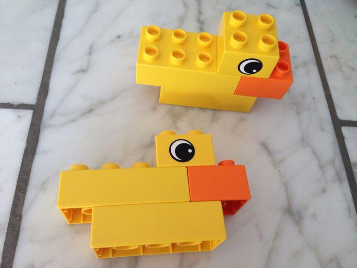 Duke Lego duplo instruction