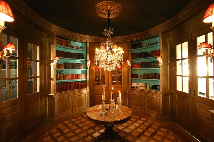 A library that inspires a thirst for knowledge. All in luxurious style. It could be yours. http://luxurydusseldorf.com