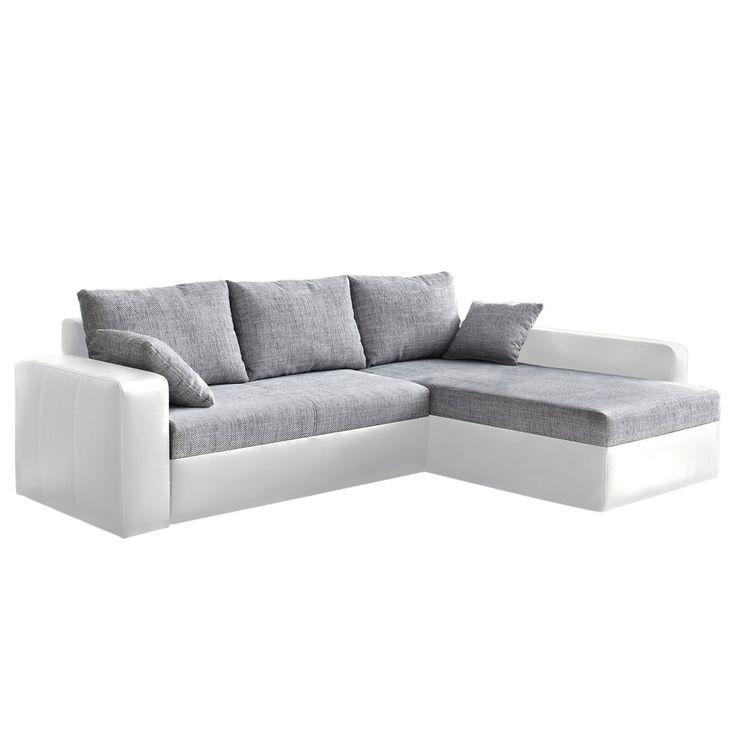 Ecksofa grau weiß  Die besten 25+ Ecksofa weiß grau Ideen auf Pinterest | Couch grau ...