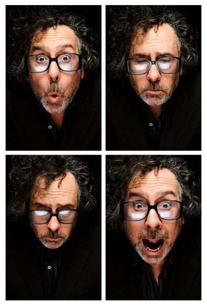Tim Burton-the man who's been stoking the coals of my imagination since I was a kid. He's got a great brain!