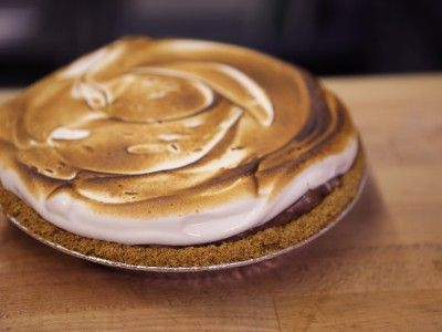 Hoosier Mama S'More Pie
