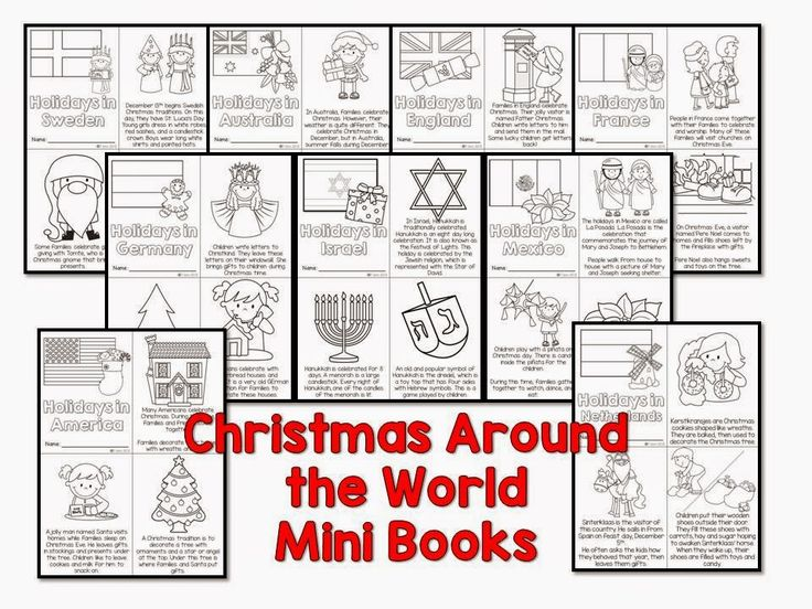 Christmas Around the World plus a FREEBIE sample