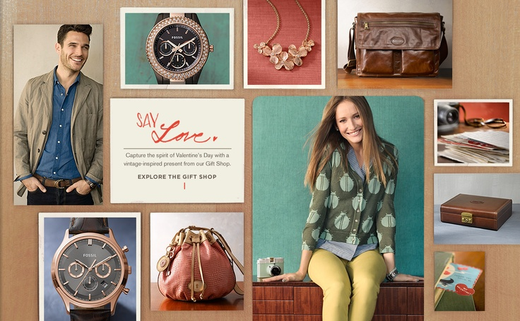 Fossil is probably my favorite indulgence. I usually get something here for my birthday or back to school/work clothing.