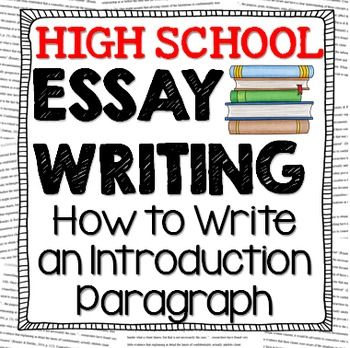 Help with writing essay introductions