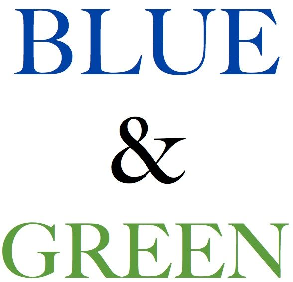 Blue and green are the main colors I want to do my bathroom.