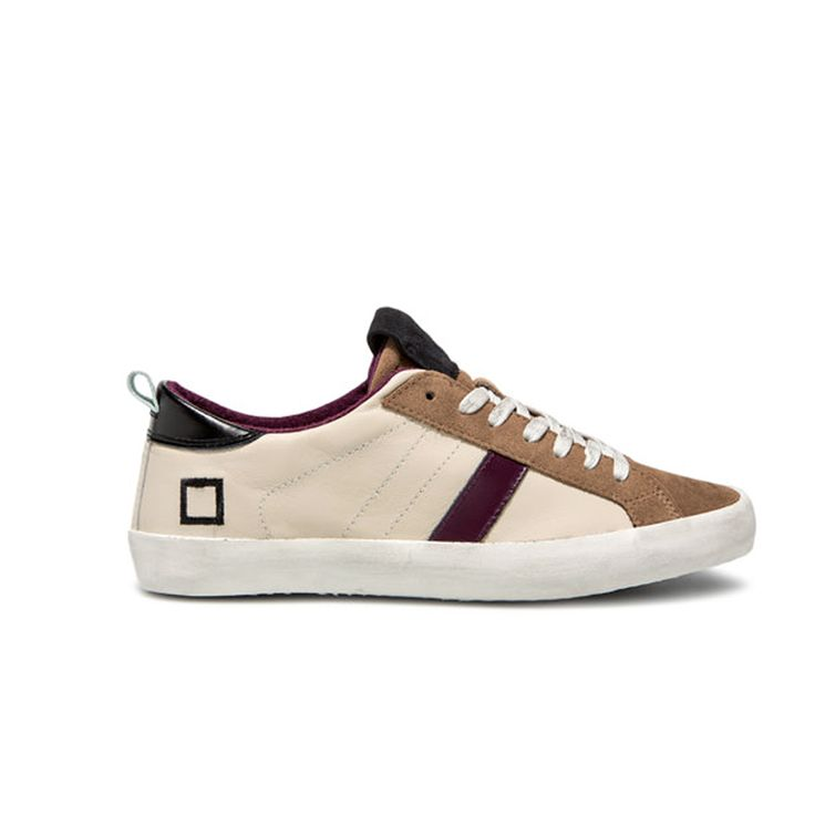 D.A.T.E. Fall Winter 2015-16 // Hill Low Nappa Skin. Shop at:http://bit.ly/1SjHXOX #datesneakers