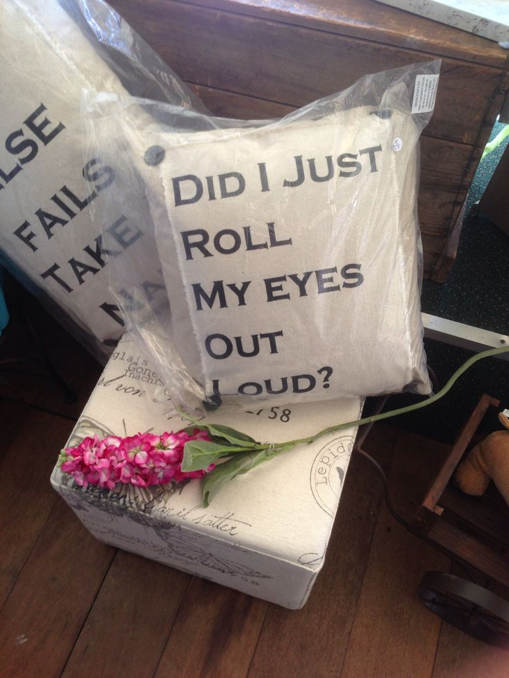 What a funny cushion, Western Australia
