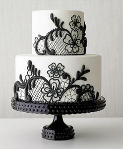 pastel de bodas vintage...