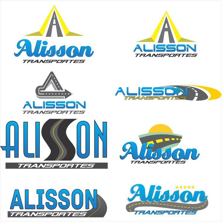 Alisson Transportes - logotipos.