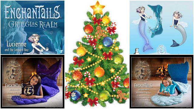 Enchantails Slumber Bag Exclusive Holiday Giveaway Hosted By: Holiday Contest and Sweeps Co-Hosted By: Beautiful Touches Do Not Pet Tom's Take On Things Mic
