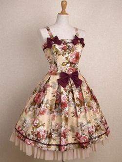 It's a bit floral, but this dress is gorgeous! :)