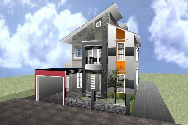 Contoh Model Atap Rumah Minimalis Miring
