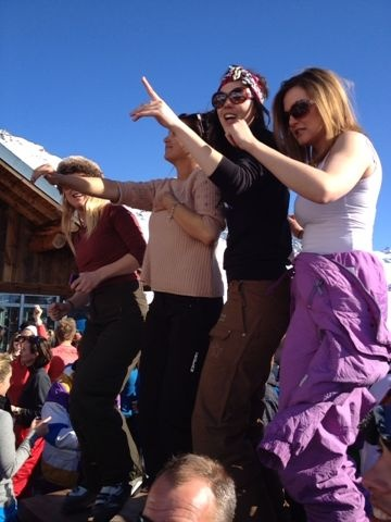 La Folie Douce @ Val Thorens. Too excited!! @Kirsten-Britt Meehan