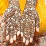 Indian Dulhan Mehndi Designs 9