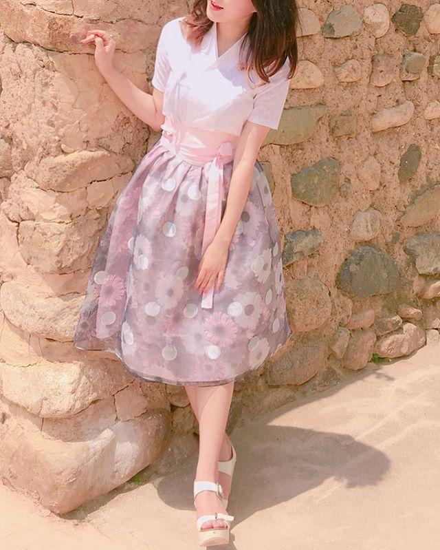 #생활한복 #여름한복 #저고리 #허리치마 #희온한복